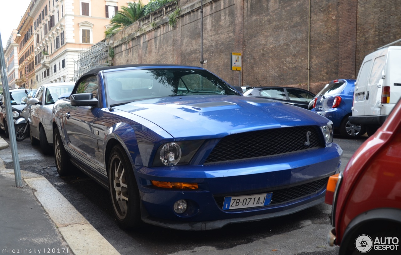 ford mustang shelby gt500 convertible 8 november 2017 autogespot. Black Bedroom Furniture Sets. Home Design Ideas
