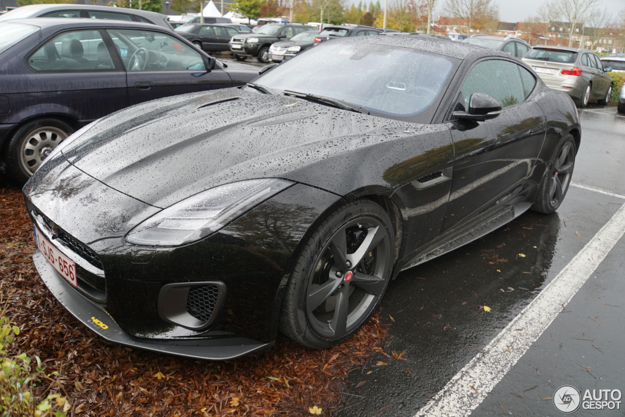 jaguar f type 400 sport coup 8 november 2017 autogespot. Black Bedroom Furniture Sets. Home Design Ideas