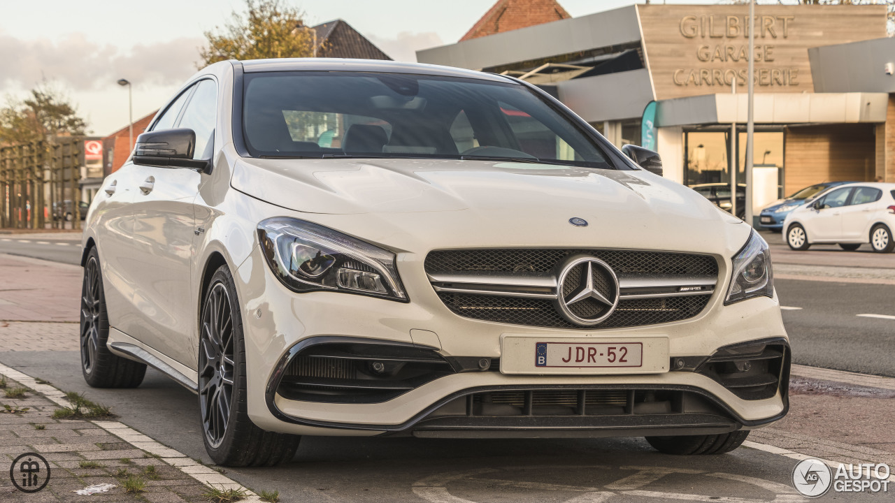 mercedes amg cla 45 c117 2017 10 november 2017 autogespot. Black Bedroom Furniture Sets. Home Design Ideas