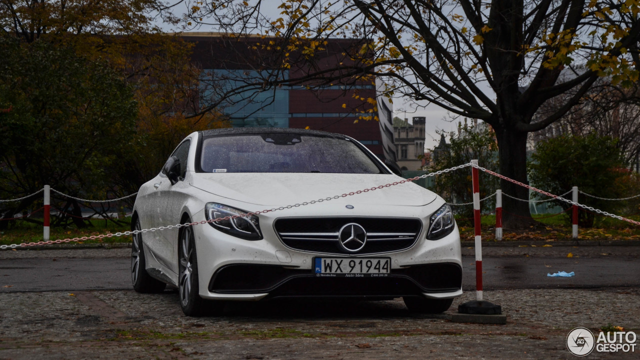 Mercedes benz s 63 amg coup c217 10 november 2017 for All types of mercedes benz cars
