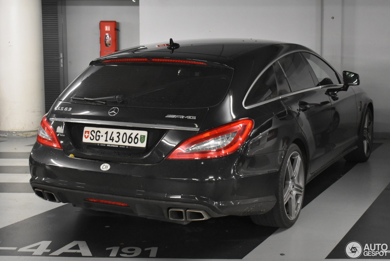 mercedes benz cls 63 amg x218 shooting brake 12 november 2017 autogespot. Black Bedroom Furniture Sets. Home Design Ideas