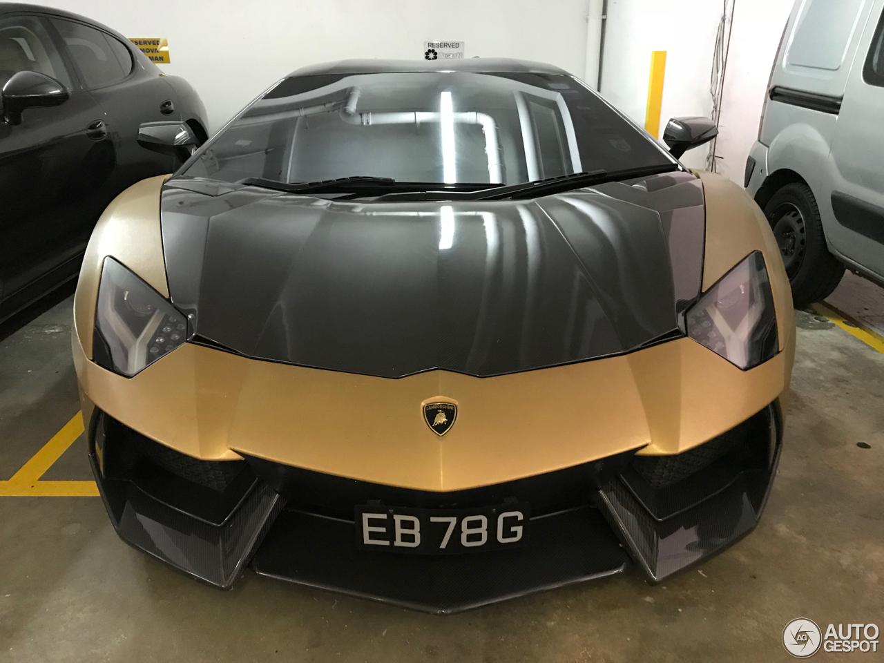 Lamborghini Aventador LP700-4 Novitec Torado 3