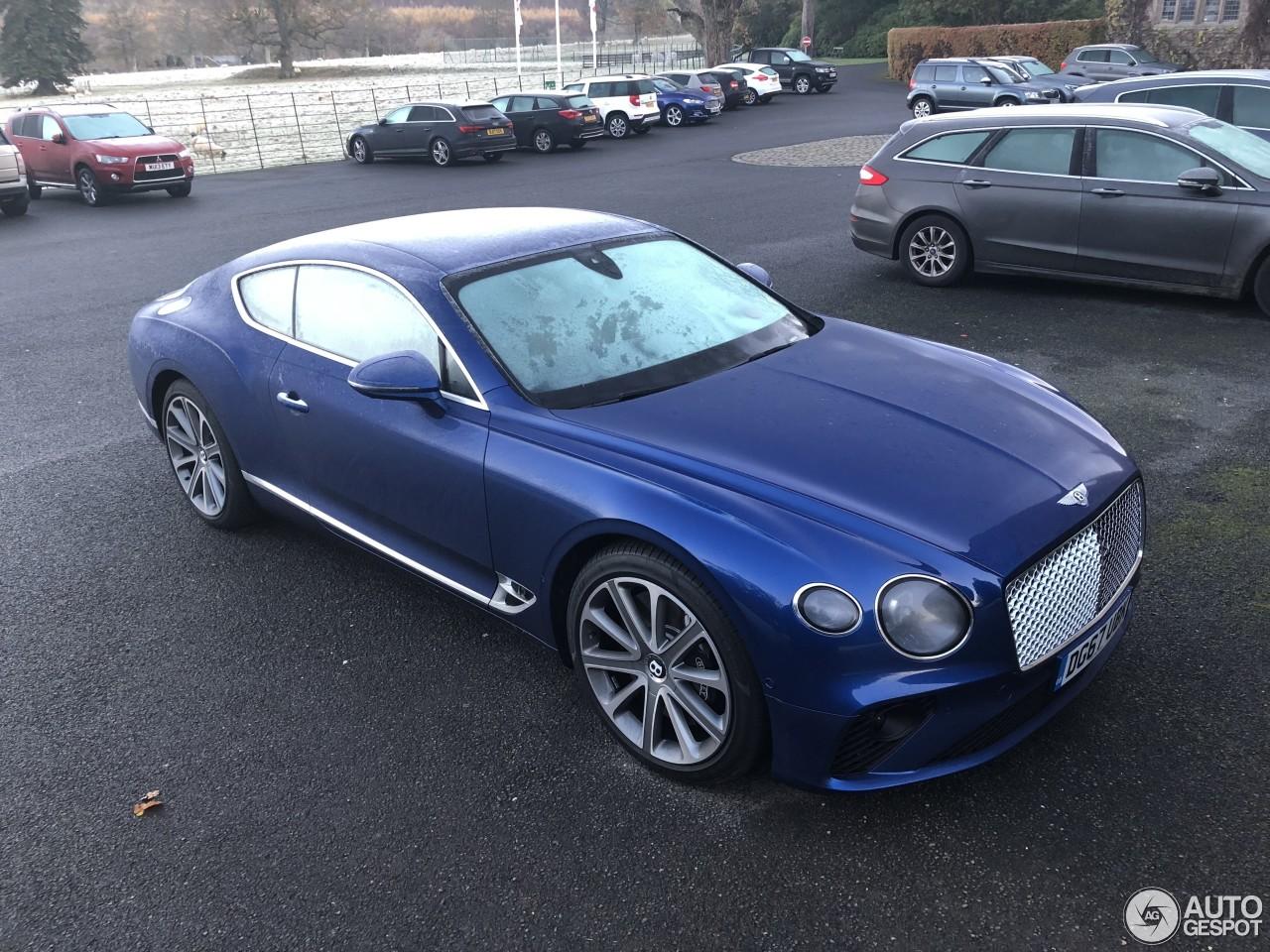 Bentley Continental Gt 2018 15 November 2017 Autogespot