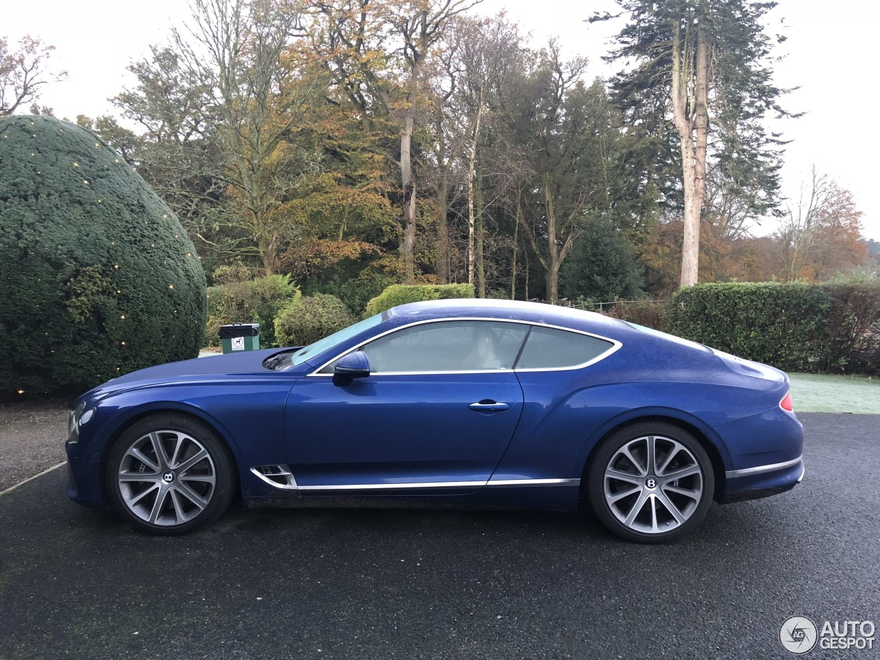 Bentley Continental Gt 2018 15 November 2017 Autogespot