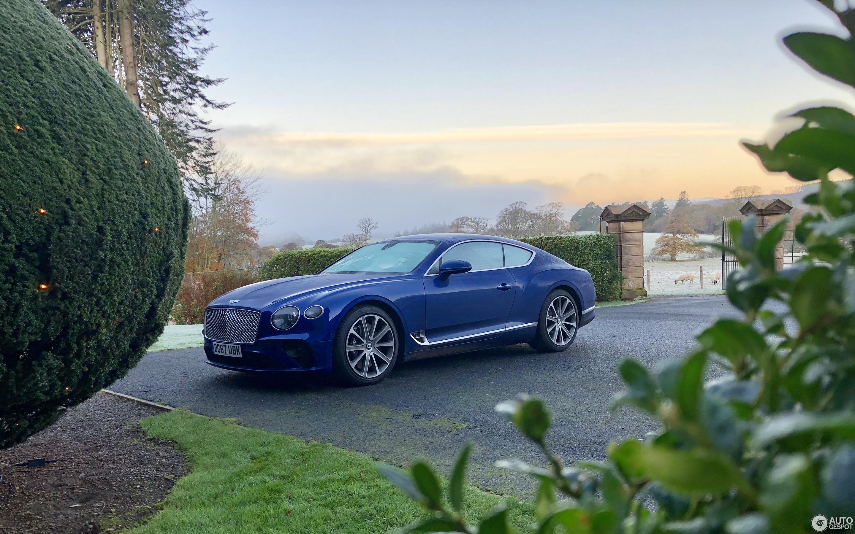 Bentley Continental GT 2018 15 новембар 2017 Autogespot