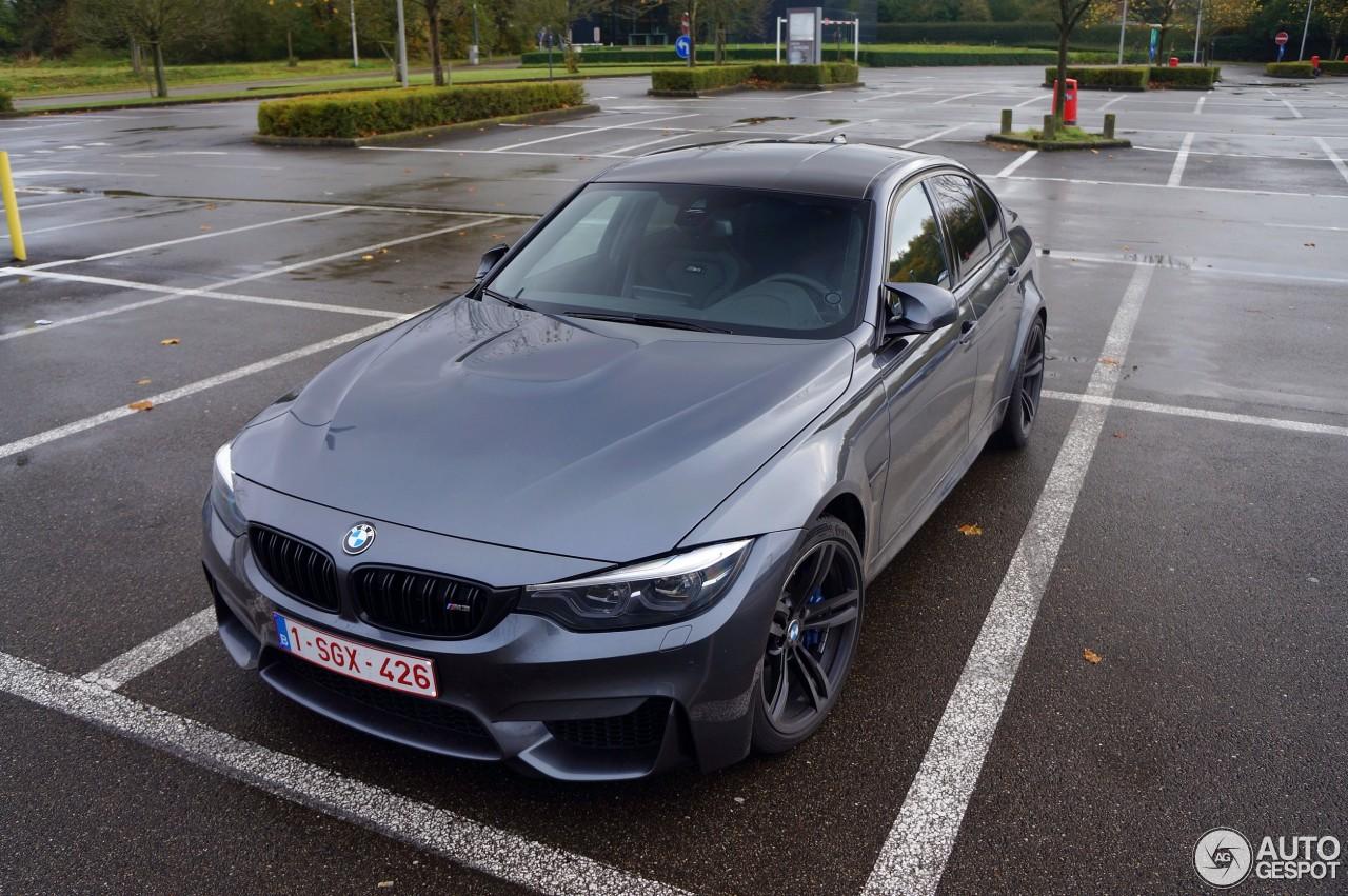 BMW M3 F80 Sedan 2017 - 16 November 2017 - Autogespot