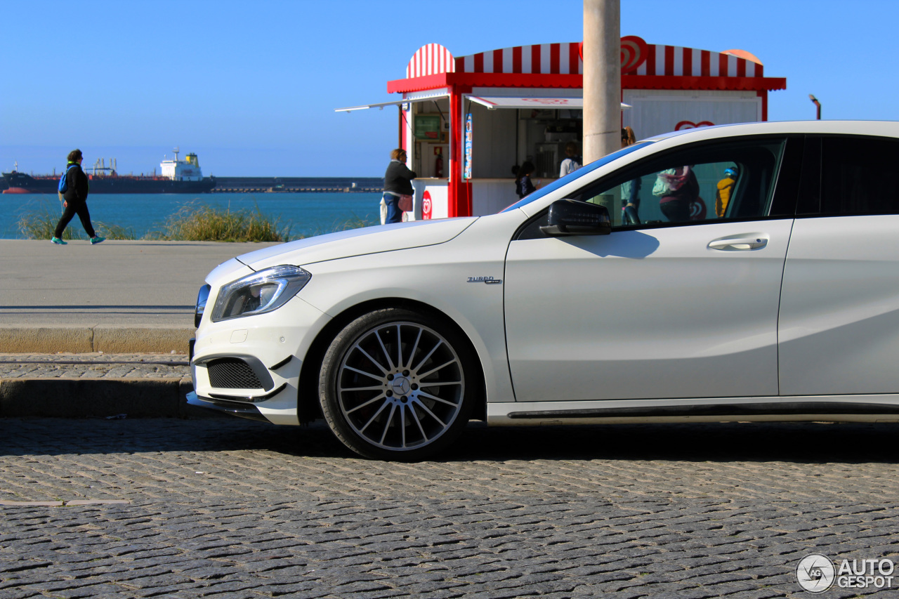 Mercedes benz a 45 amg 16 noviembre 2017 autogespot for Mercedes benz a 45