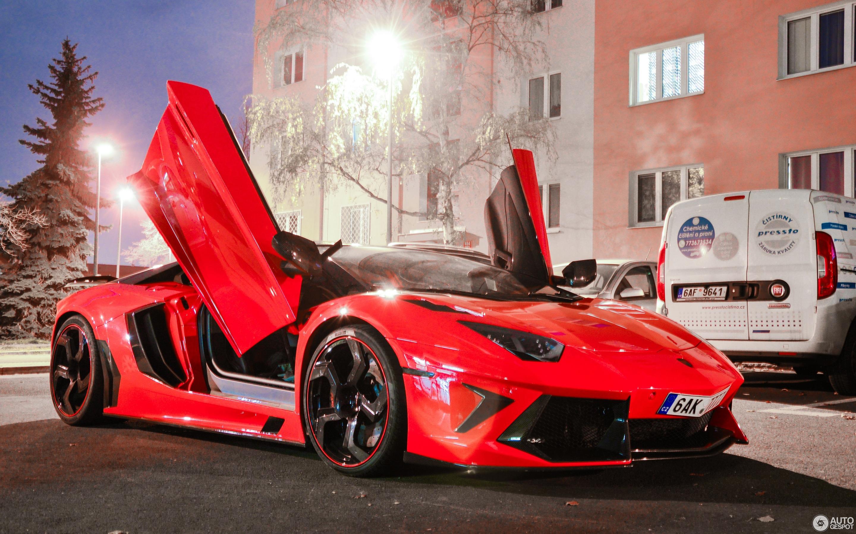 Lamborghini Mansory Aventador LP700-4