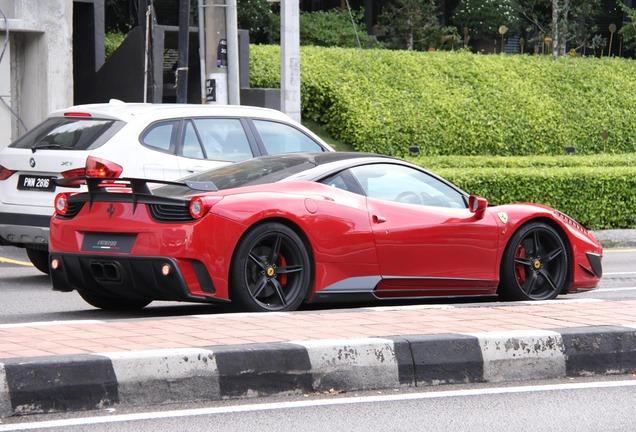 Ferrari 458 Italia Mansory Siracusa