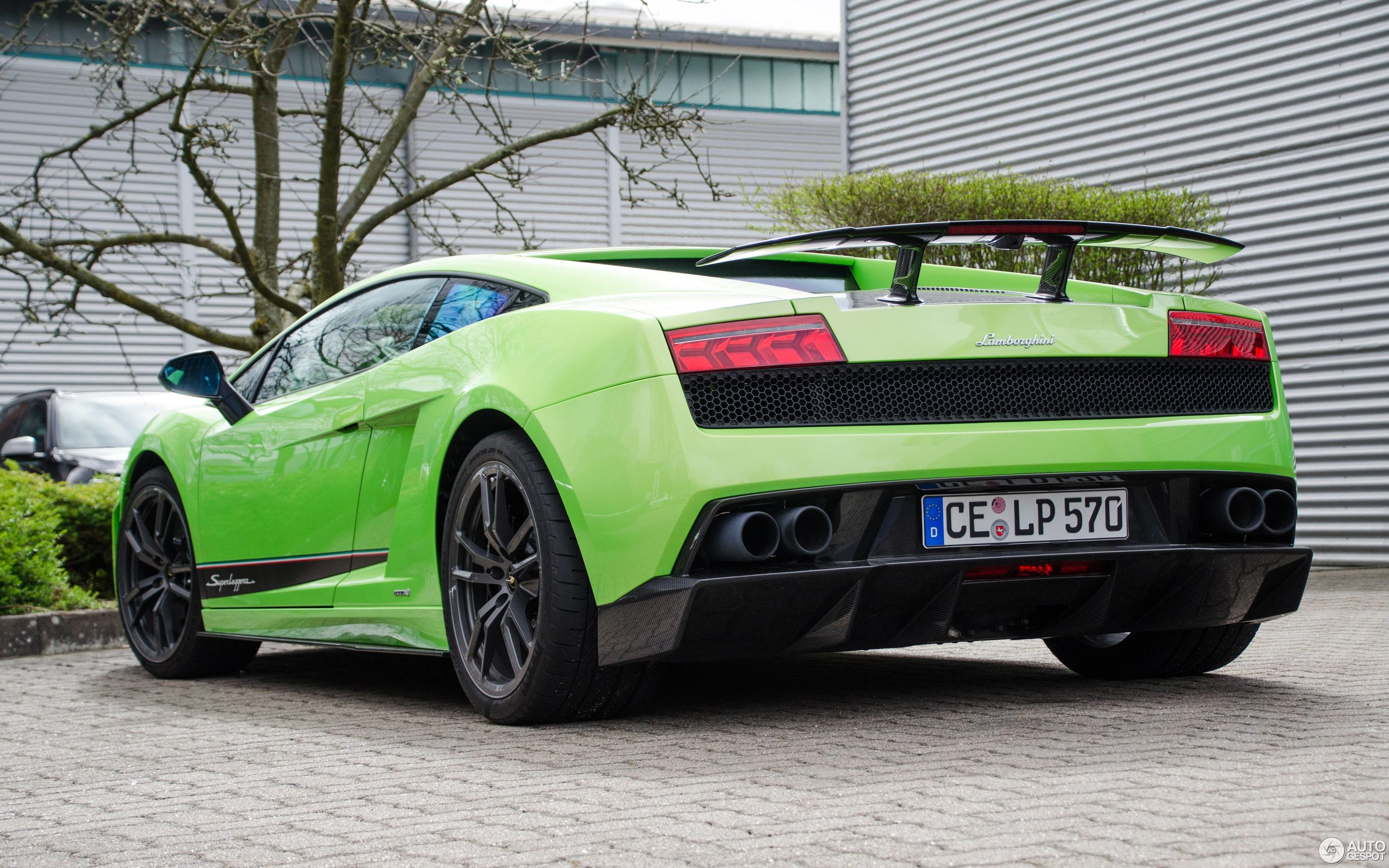 Beautiful Lamborghini Gallardo LP570 4 Superleggera