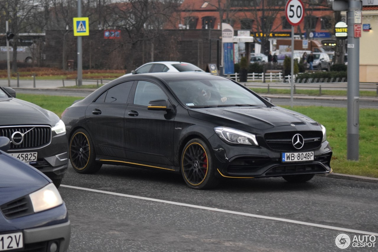 Mercedes Amg Cla 45 C117 Yellow Night Edition 26
