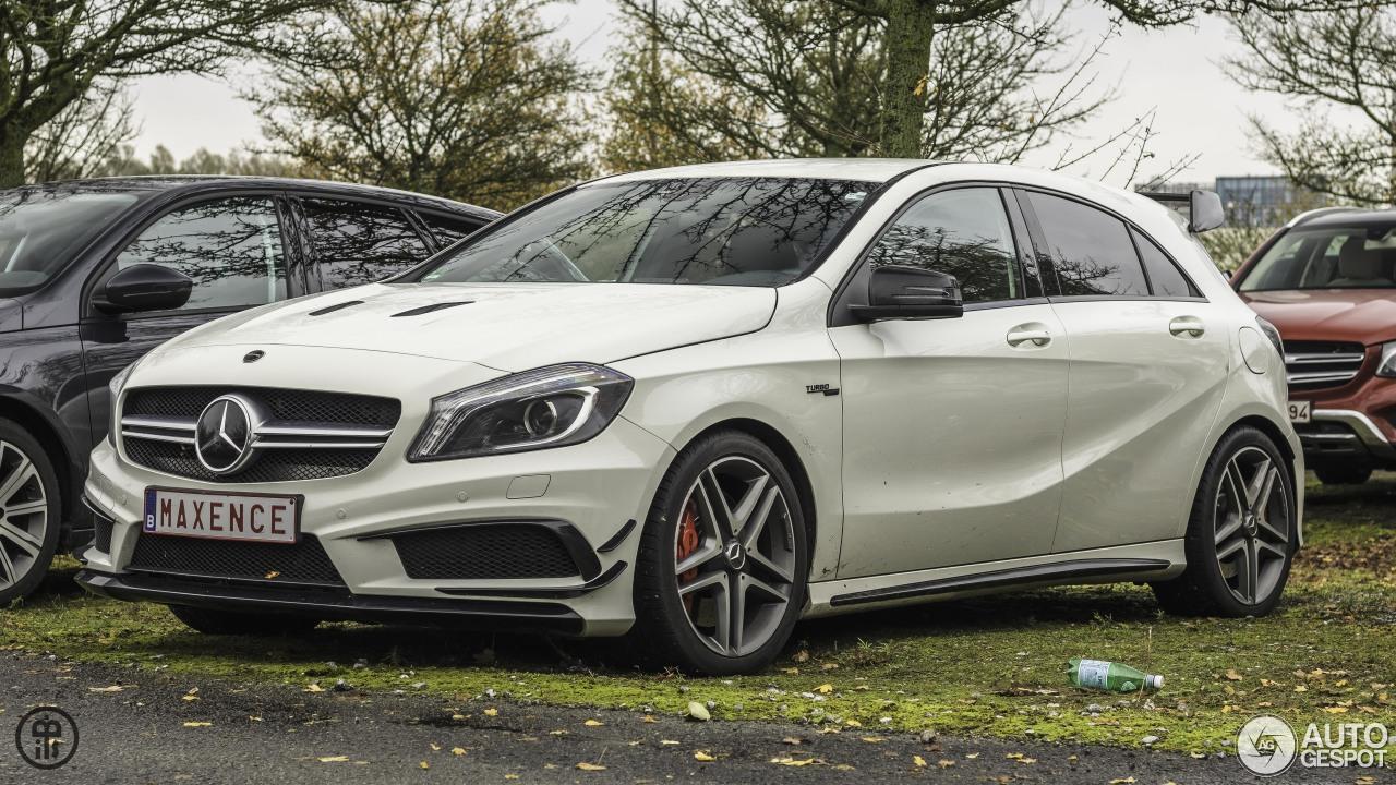 Mercedes benz a 45 amg 26 november 2017 autogespot for All types of mercedes benz cars