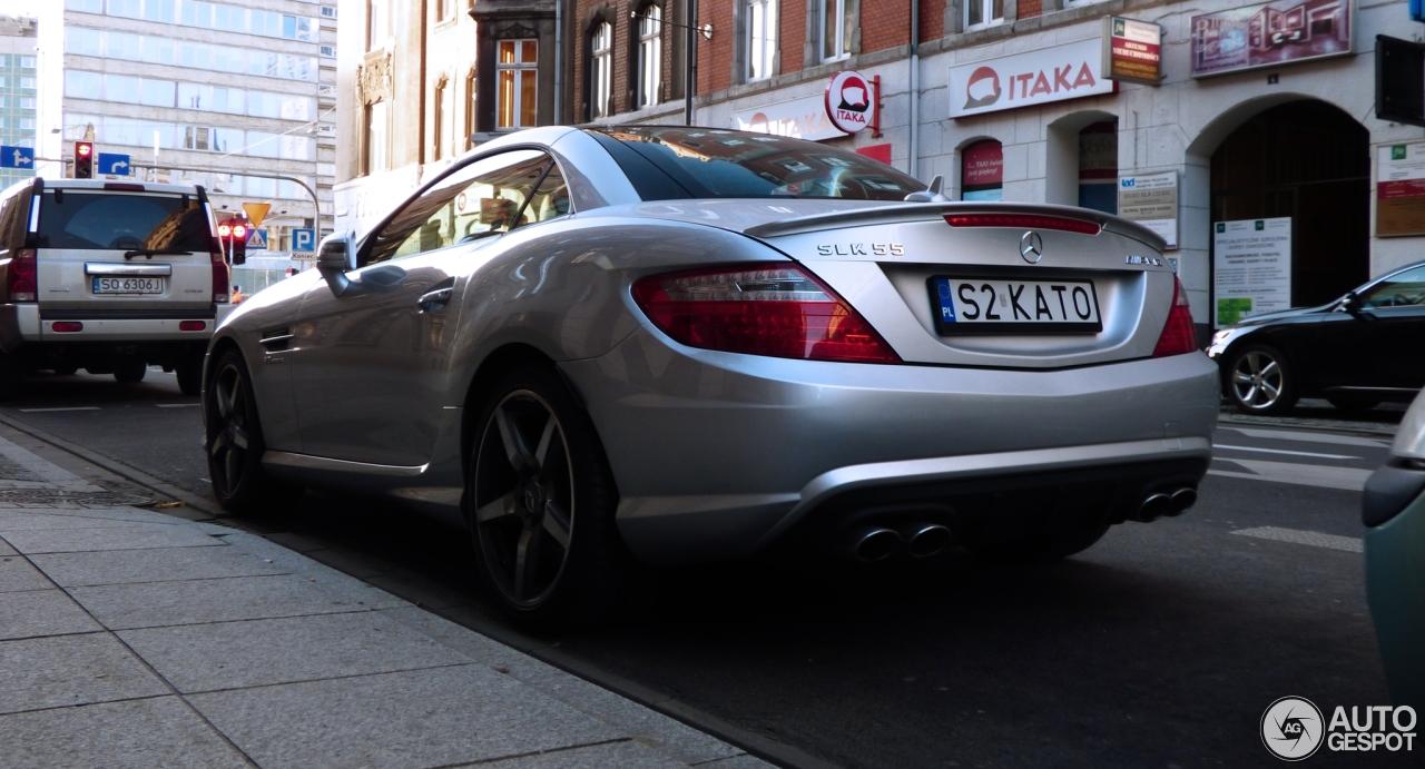 Mercedes benz slk 55 amg r172 26 novembre 2017 autogespot for Mercedes benz slk amg 2017