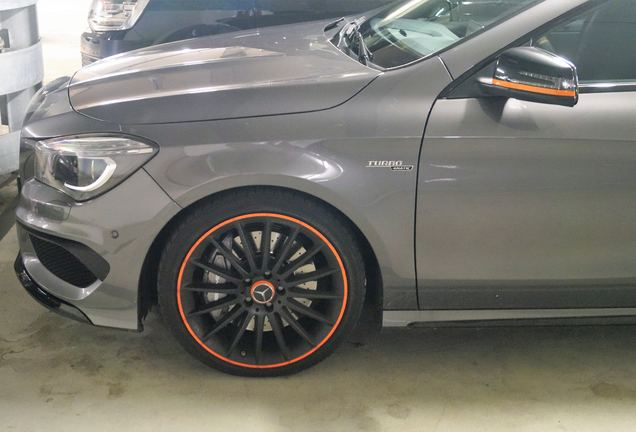 Mercedes-AMG CLA 45 Shooting Brake OrangeArt Edition