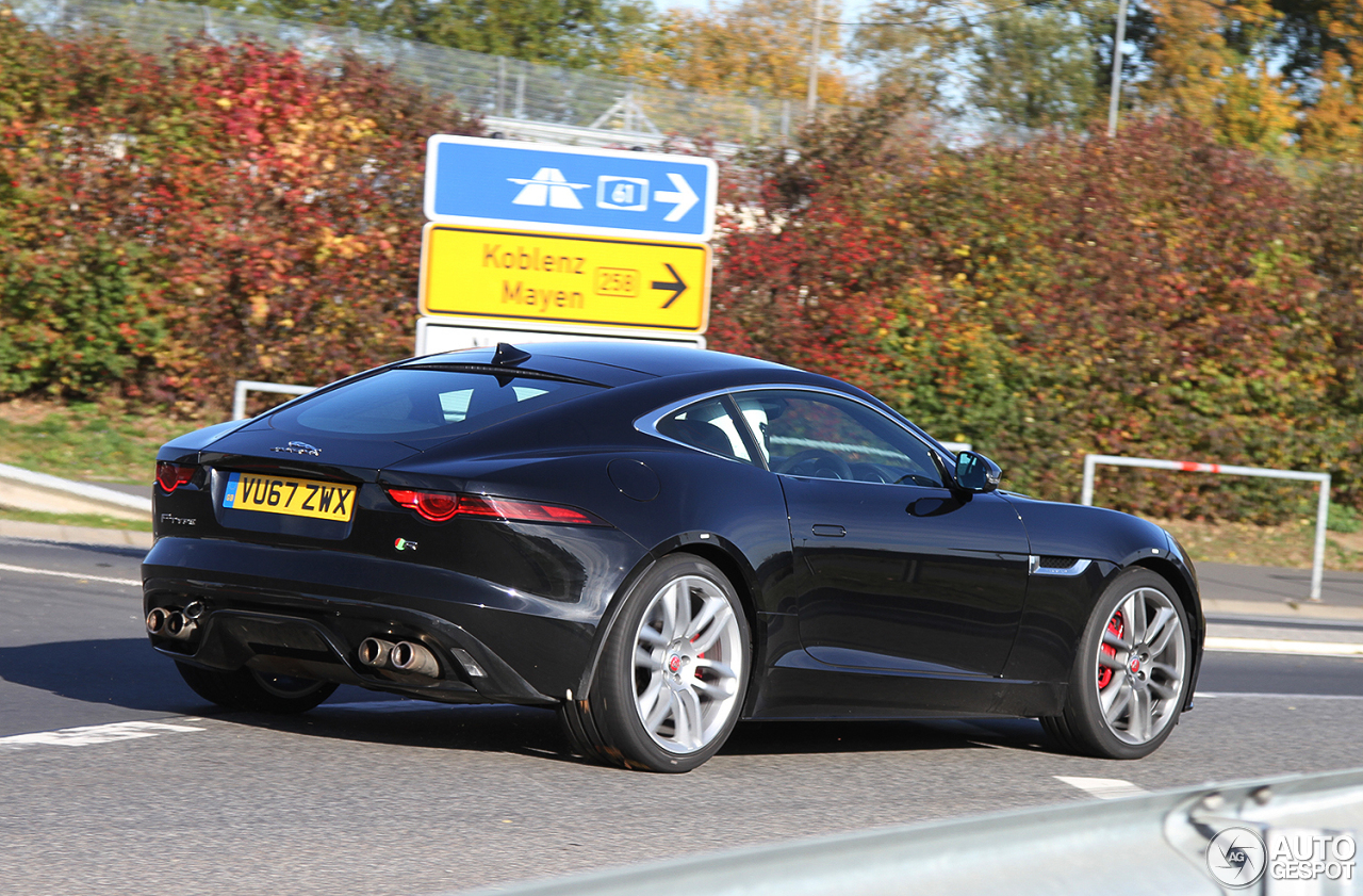 Jaguar f type r coup 2017 28 november 2017 autogespot - Jaguar f type r coupe prix ...