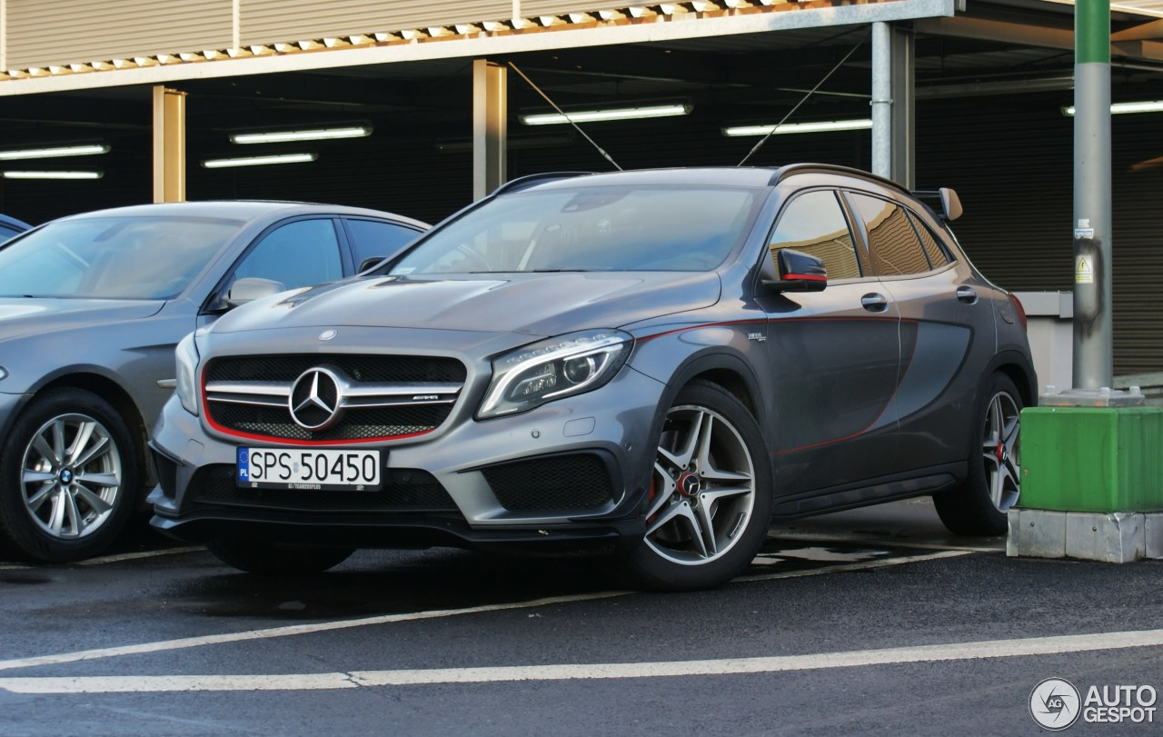 mercedes benz gla 45 amg edition 1 1 december 2017 autogespot. Black Bedroom Furniture Sets. Home Design Ideas