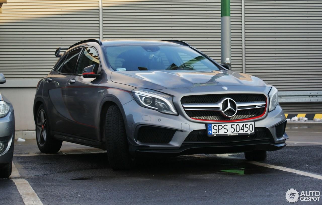 Mercedes benz gla 45 amg edition 1 1 december 2017 for 2017 amg gla 45 mercedes benz