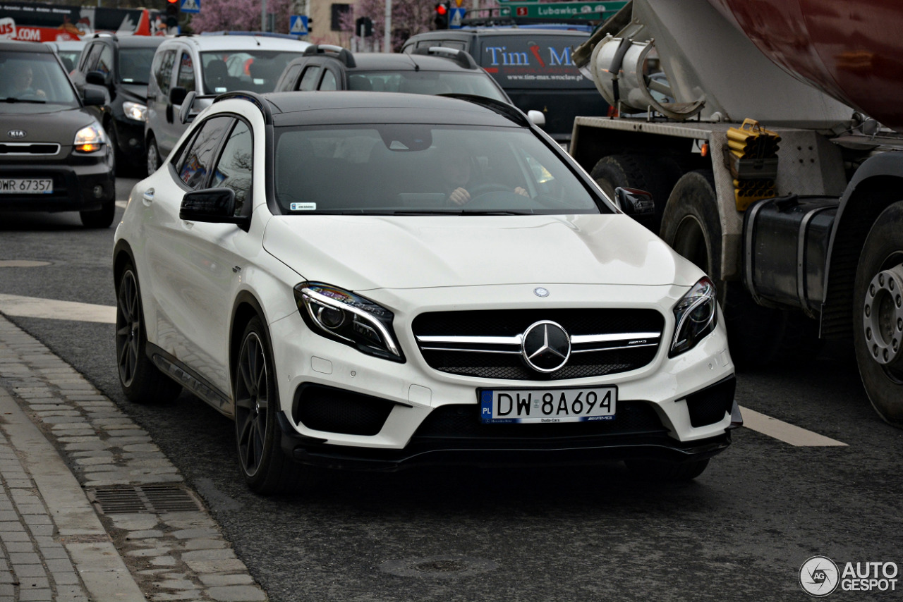 mercedes amg gla 45 x156 3 december 2017 autogespot. Black Bedroom Furniture Sets. Home Design Ideas