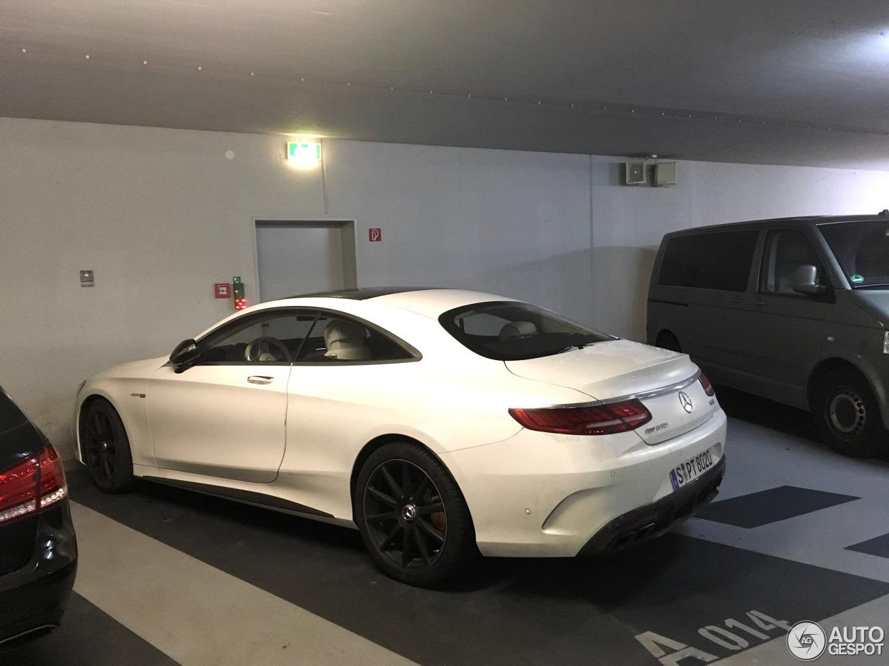 Mercedes-AMG S 63 Coupé C217 2018 - 3 December 2017 ...