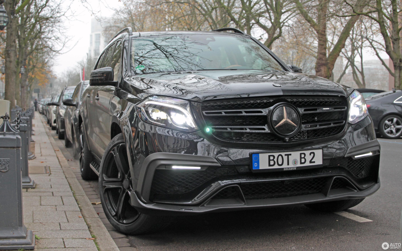 Mercedes Amg Brabus Gls 850 6 0 Biturbo 3 December 2017 Autogespot
