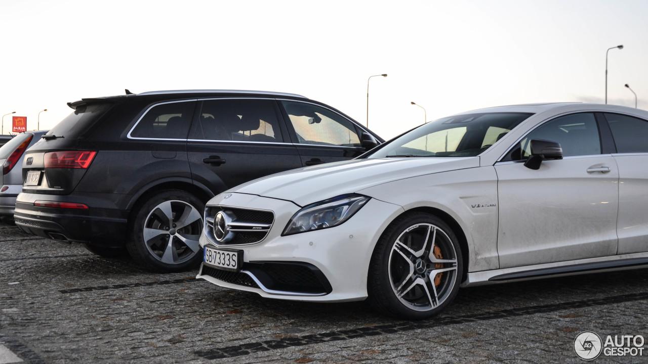 Mercedes benz cls 63 amg s c218 2015 4 december 2017 for 2017 amg cls 63 mercedes benz