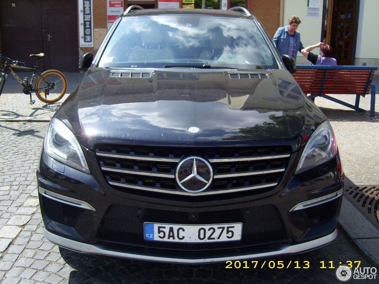 Mercedes benz ml 63 amg w166 4 december 2017 autogespot for Mercedes benz ml 2017