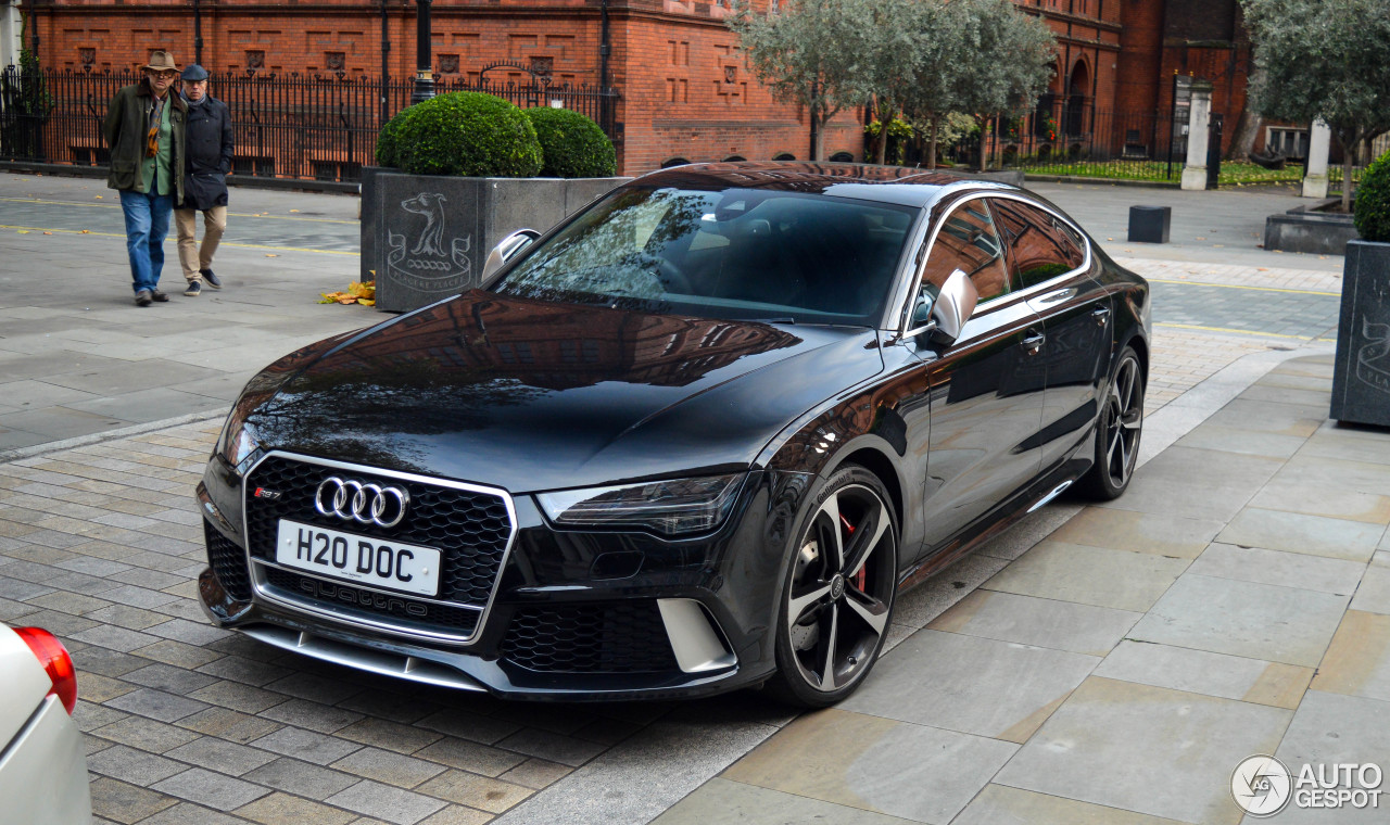 מעולה Audi RS7 Sportback 2015 - 5 december 2017 - Autogespot BB-99