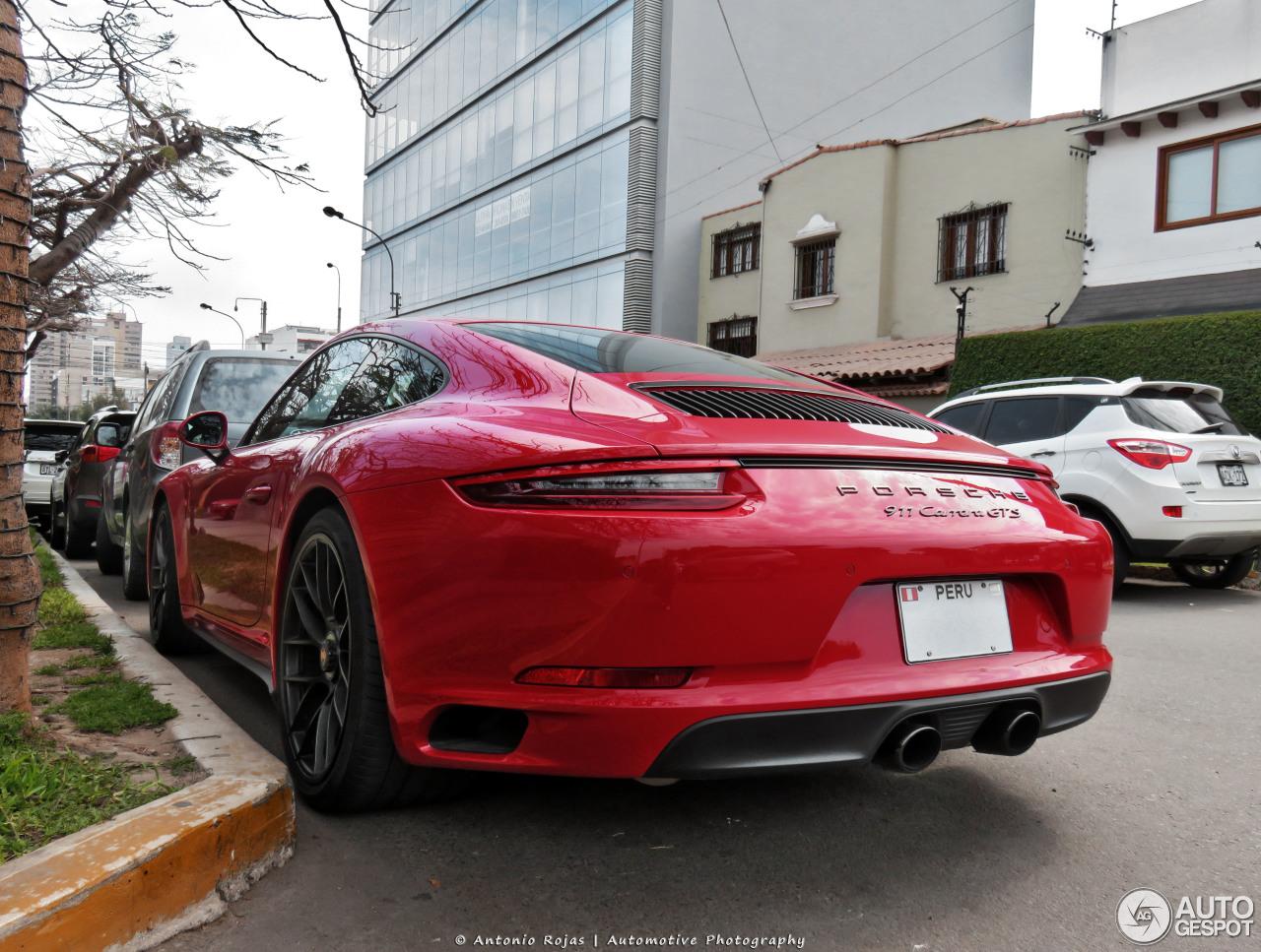 Porsche 991 Carrera GTS MkII 4