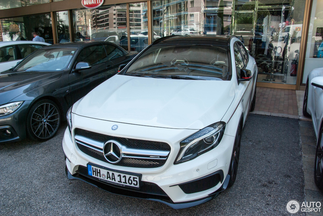 Mercedes benz gla 45 amg edition 1 8 dcembre 2017 for 2017 mercedes benz amg gla 45