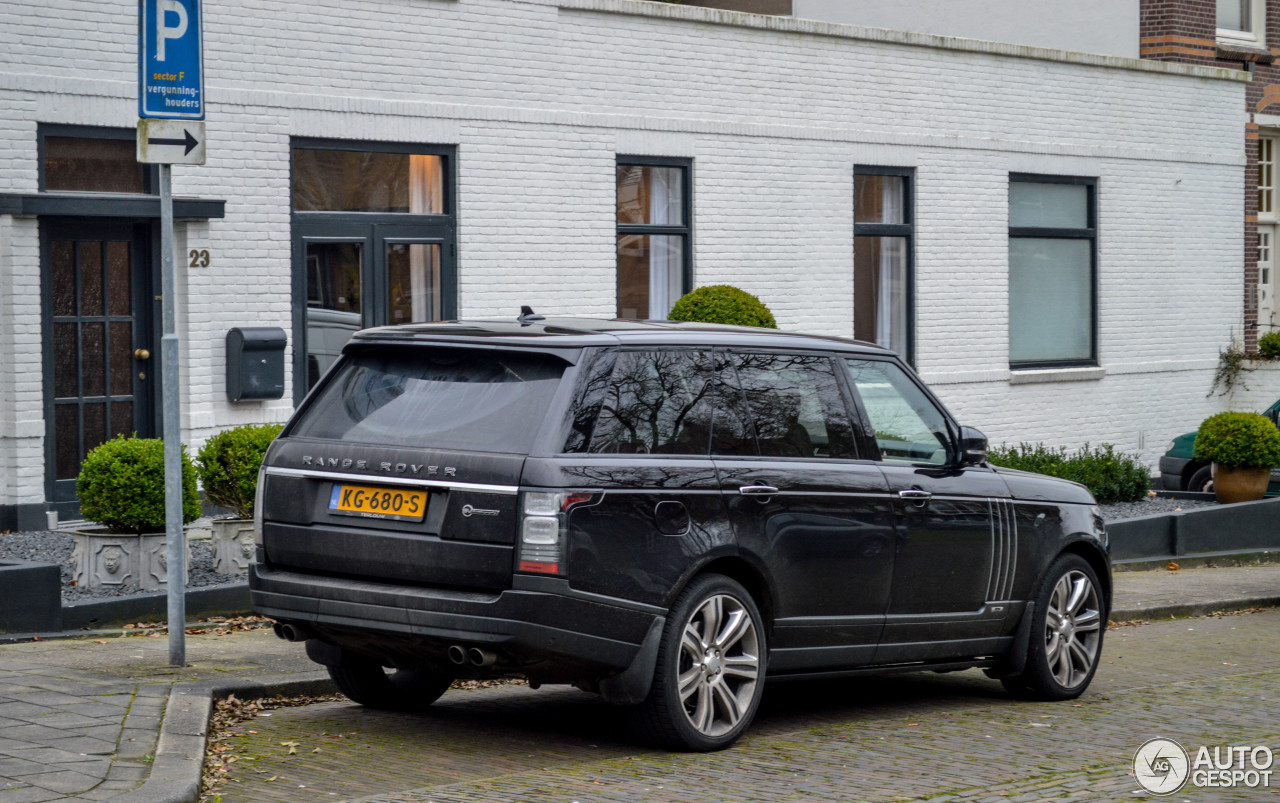 land rover range rover svautobiography lwb 10 december 2017 autogespot. Black Bedroom Furniture Sets. Home Design Ideas