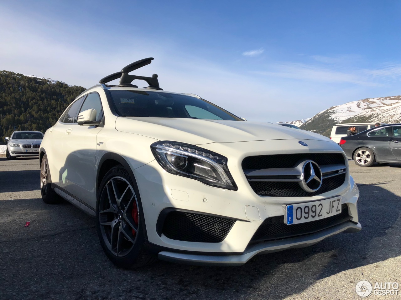 mercedes benz gla 45 amg x156 10 december 2017 autogespot. Black Bedroom Furniture Sets. Home Design Ideas