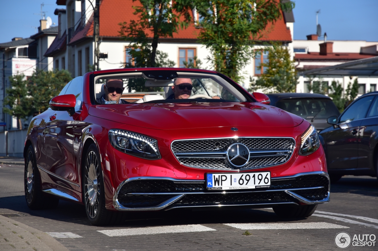 Mercedes maybach s650 cabriolet 10 december 2017 for Mercedes benz s650
