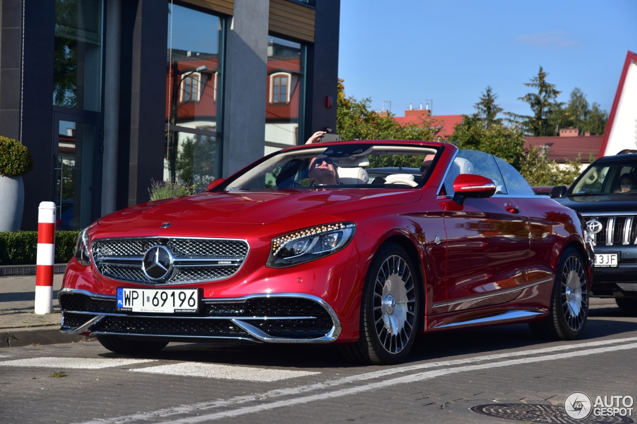 Mercedes maybach s650 cabriolet 10 december 2017 for Mercedes benz s650 price