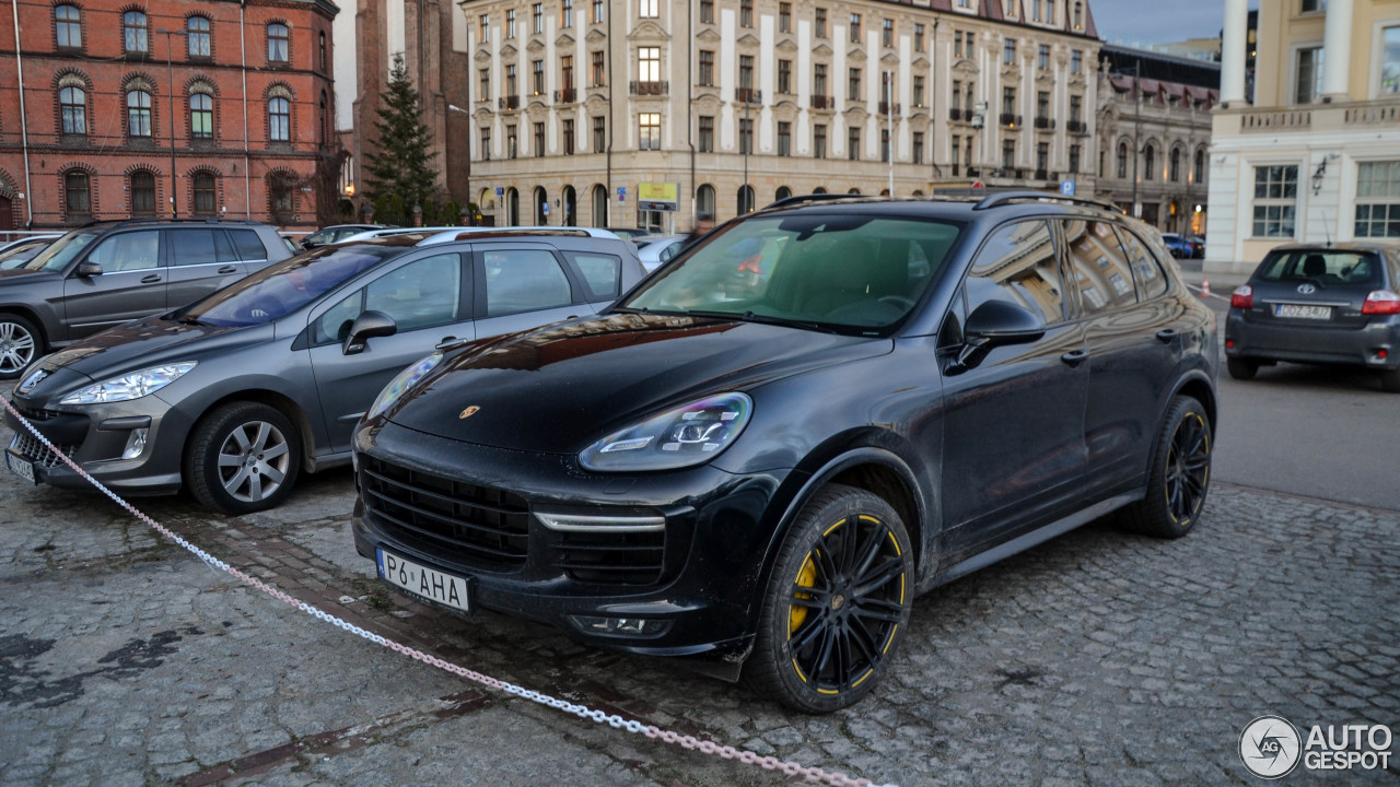 porsche 958 cayenne turbo s mkii 12 december 2017 autogespot. Black Bedroom Furniture Sets. Home Design Ideas