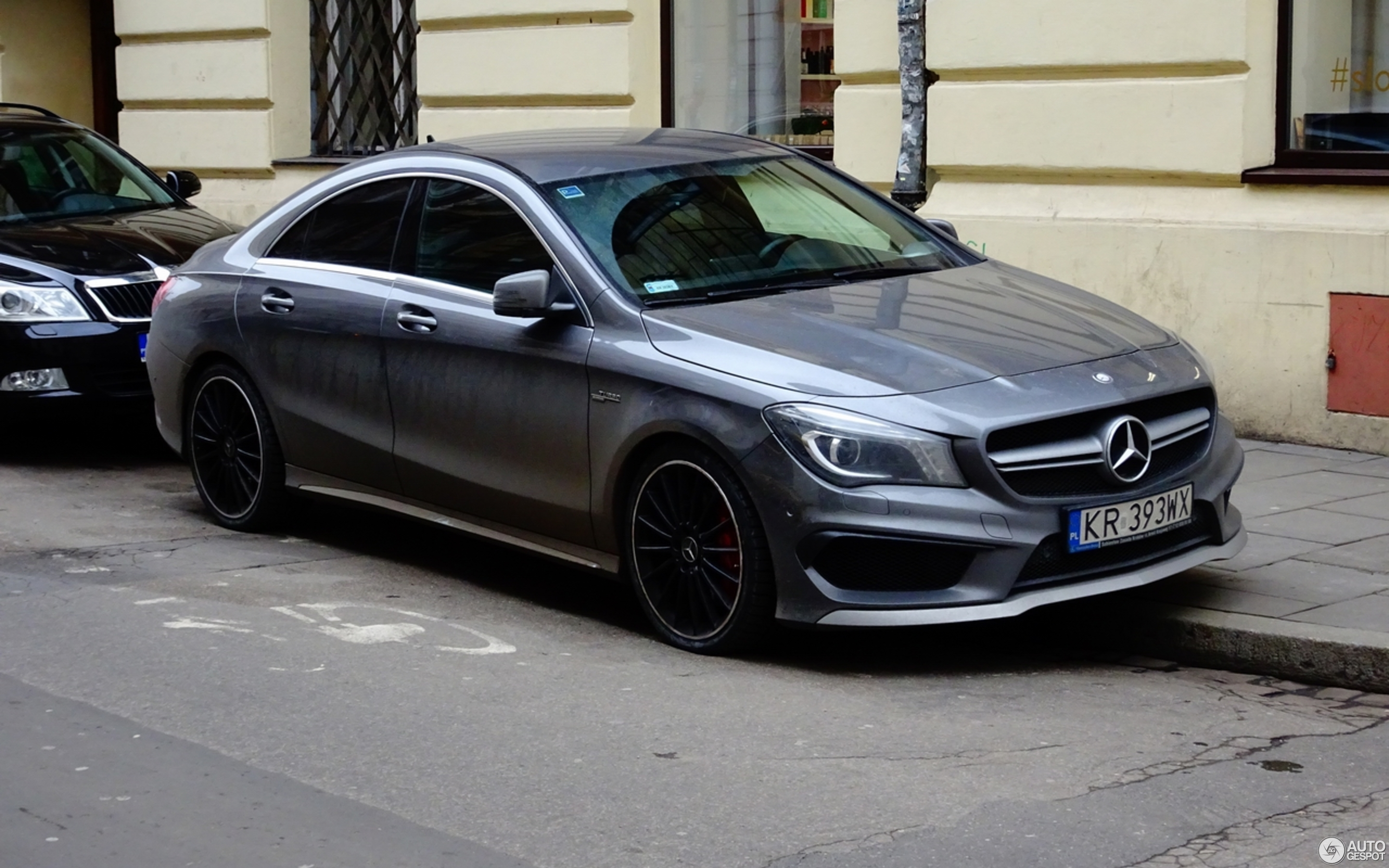 mercedes benz cla 45 amg c117 13 december 2017 autogespot. Black Bedroom Furniture Sets. Home Design Ideas