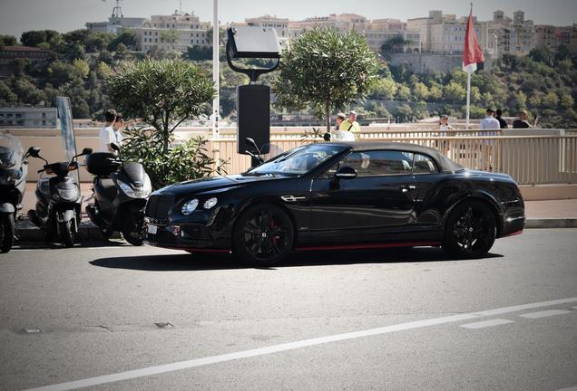 Bentley Continental GTC Speed Black Edition 2016