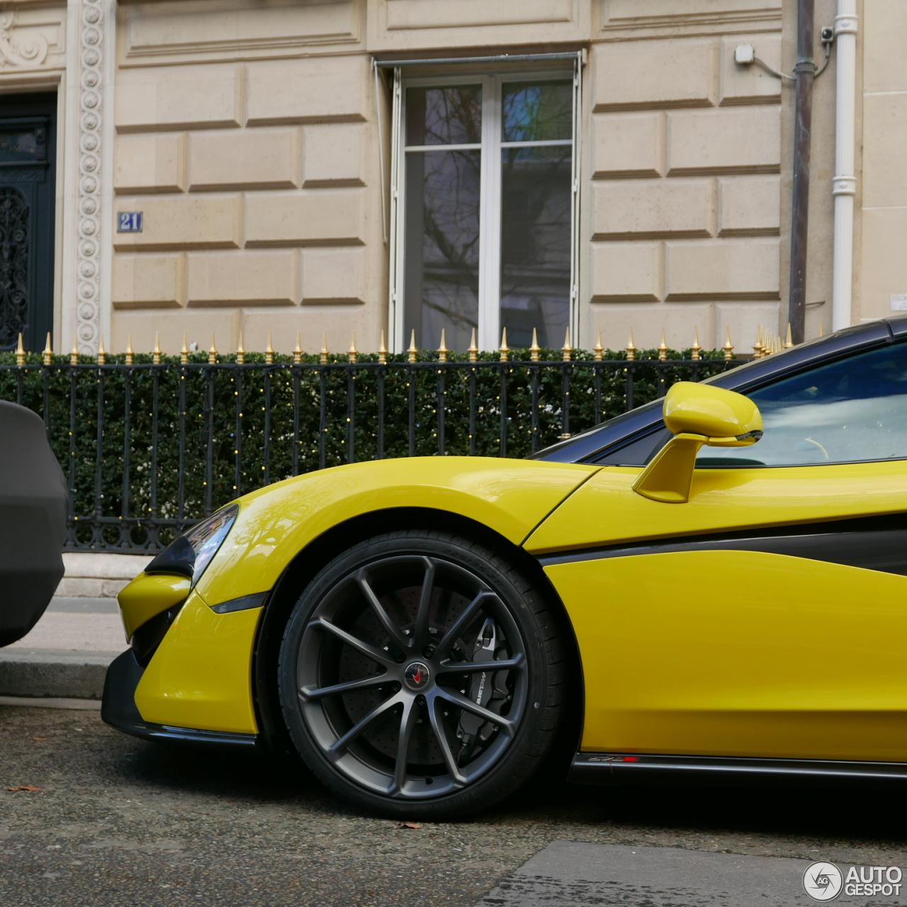 2017 Mclaren 570s Camshaft: McLaren 570S Spider