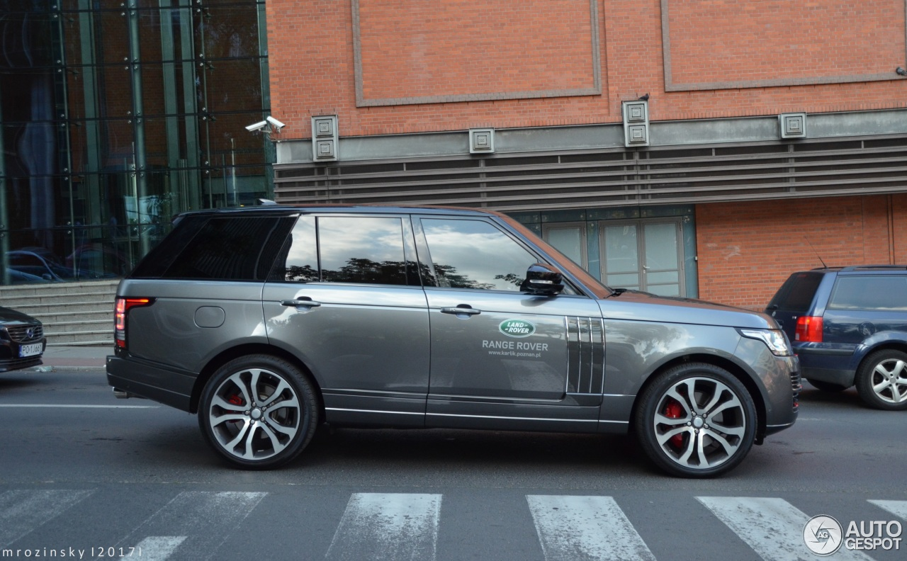 2018 Range Rover Sv Autobiography Dynamic >> Land Rover Range Rover Svautobiography Dynamic 21 December