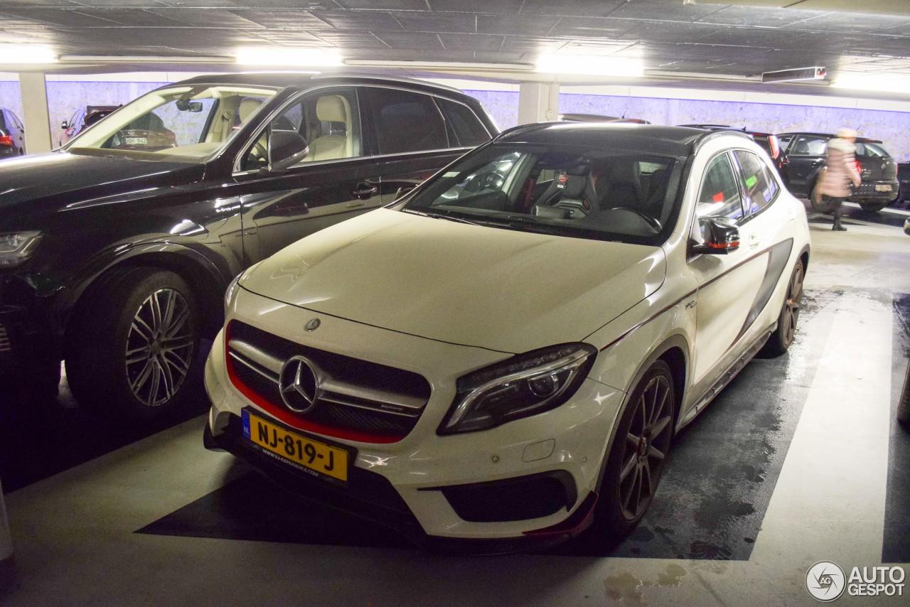 Mercedes benz gla 45 amg edition 1 21 december 2017 for 2017 mercedes benz amg gla 45