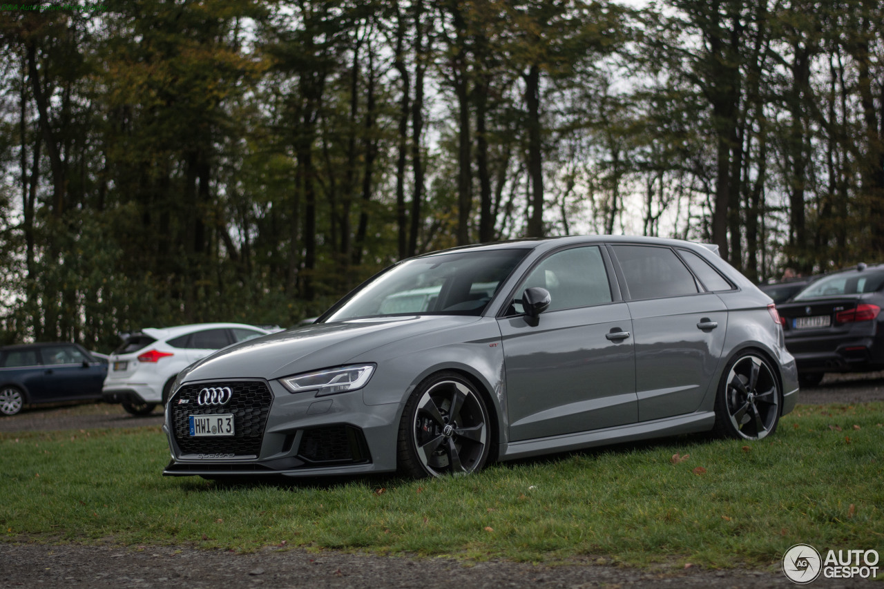 audi rs3 sportback 8v 2018 22 december 2017 autogespot. Black Bedroom Furniture Sets. Home Design Ideas