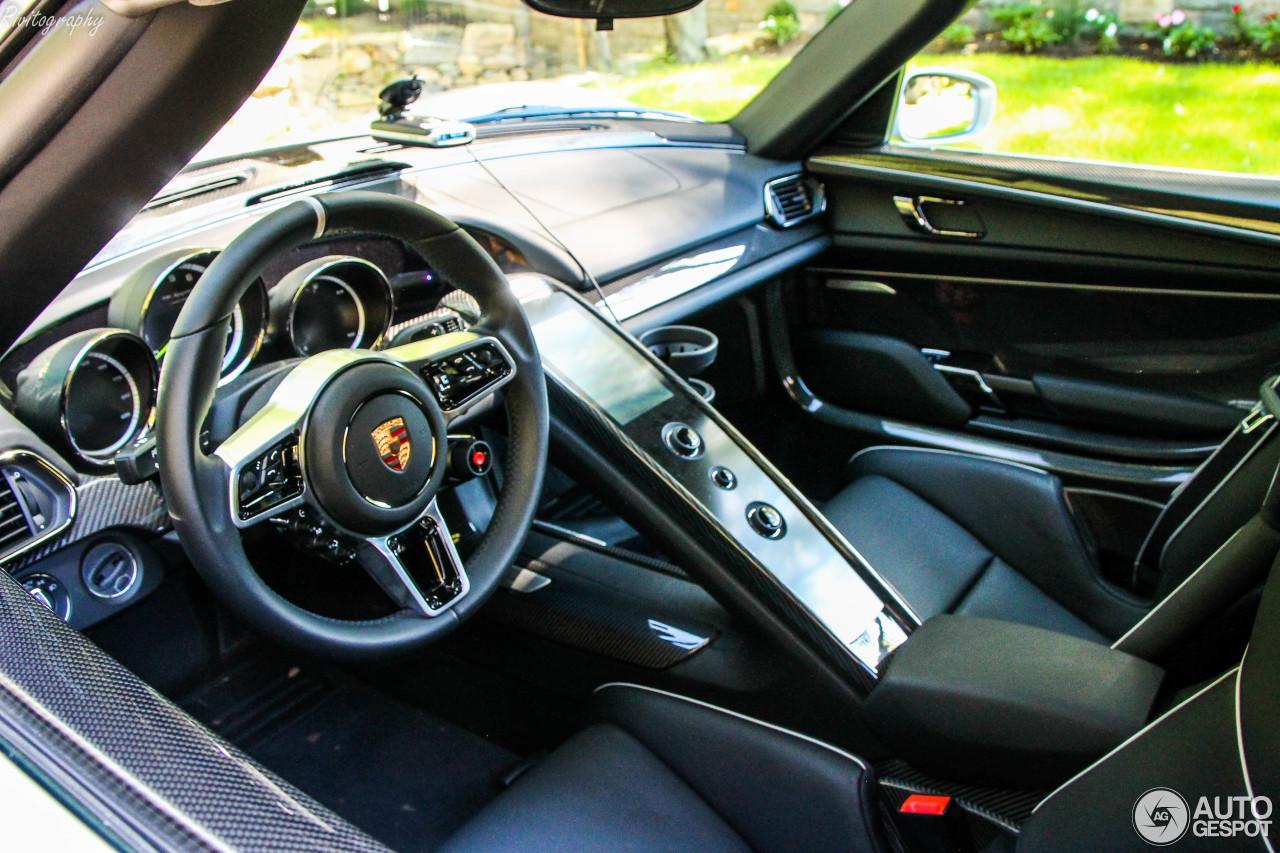 porsche 918 spyder 23 grudzie 2017 autogespot. Black Bedroom Furniture Sets. Home Design Ideas