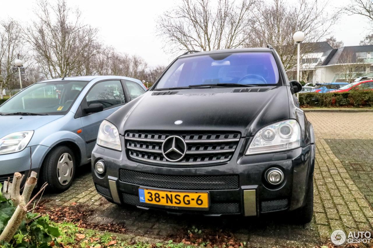 Mercedes benz ml 63 amg w164 24 december 2017 autogespot for Mercedes benz ml 2017