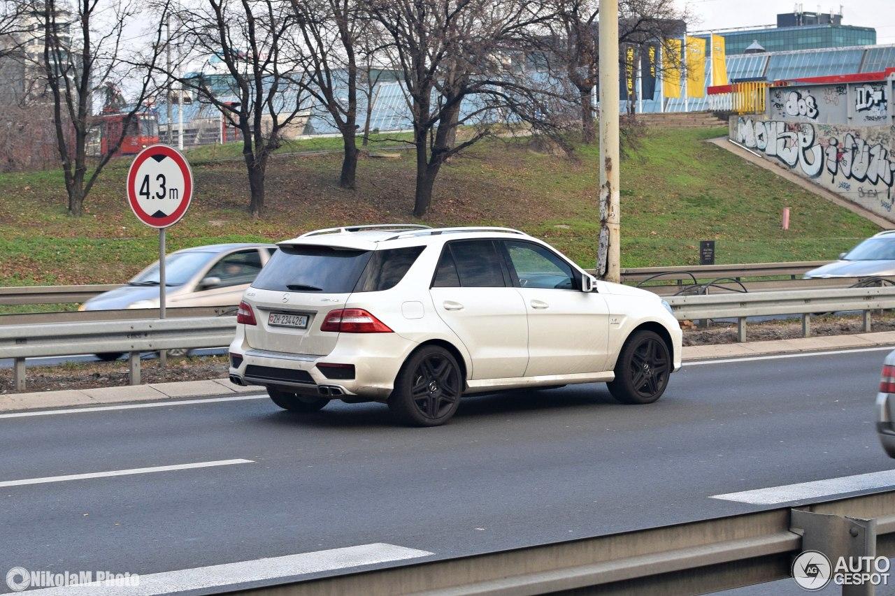 Mercedes Benz Ml 63 Amg W166 24 December 2017 Autogespot