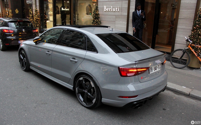 Audi RS3 Sedan 8V - 24 December 2017 - Autogespot