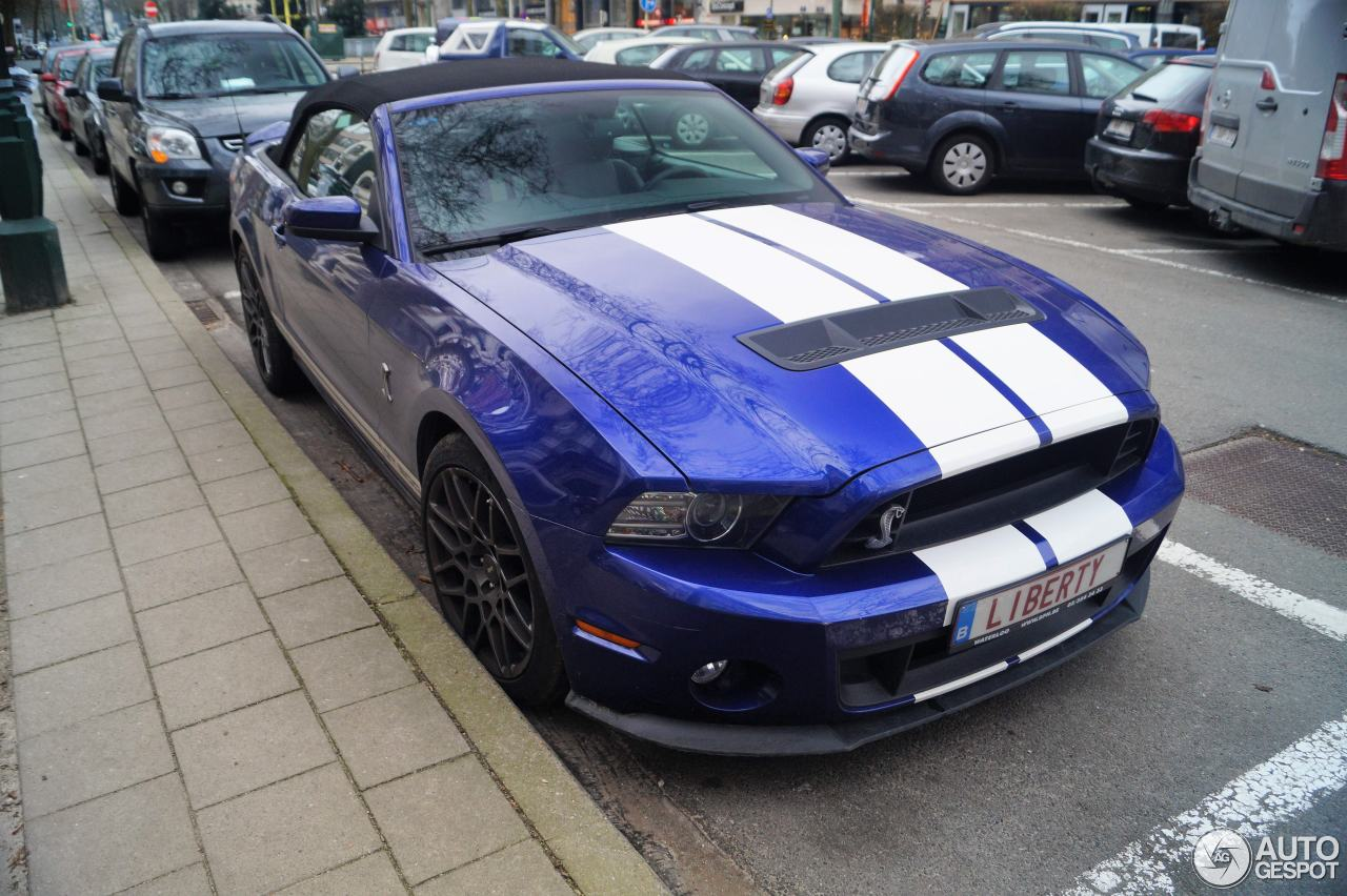 ford mustang shelby gt500 convertible 2014 25 december 2017 autogespot. Black Bedroom Furniture Sets. Home Design Ideas