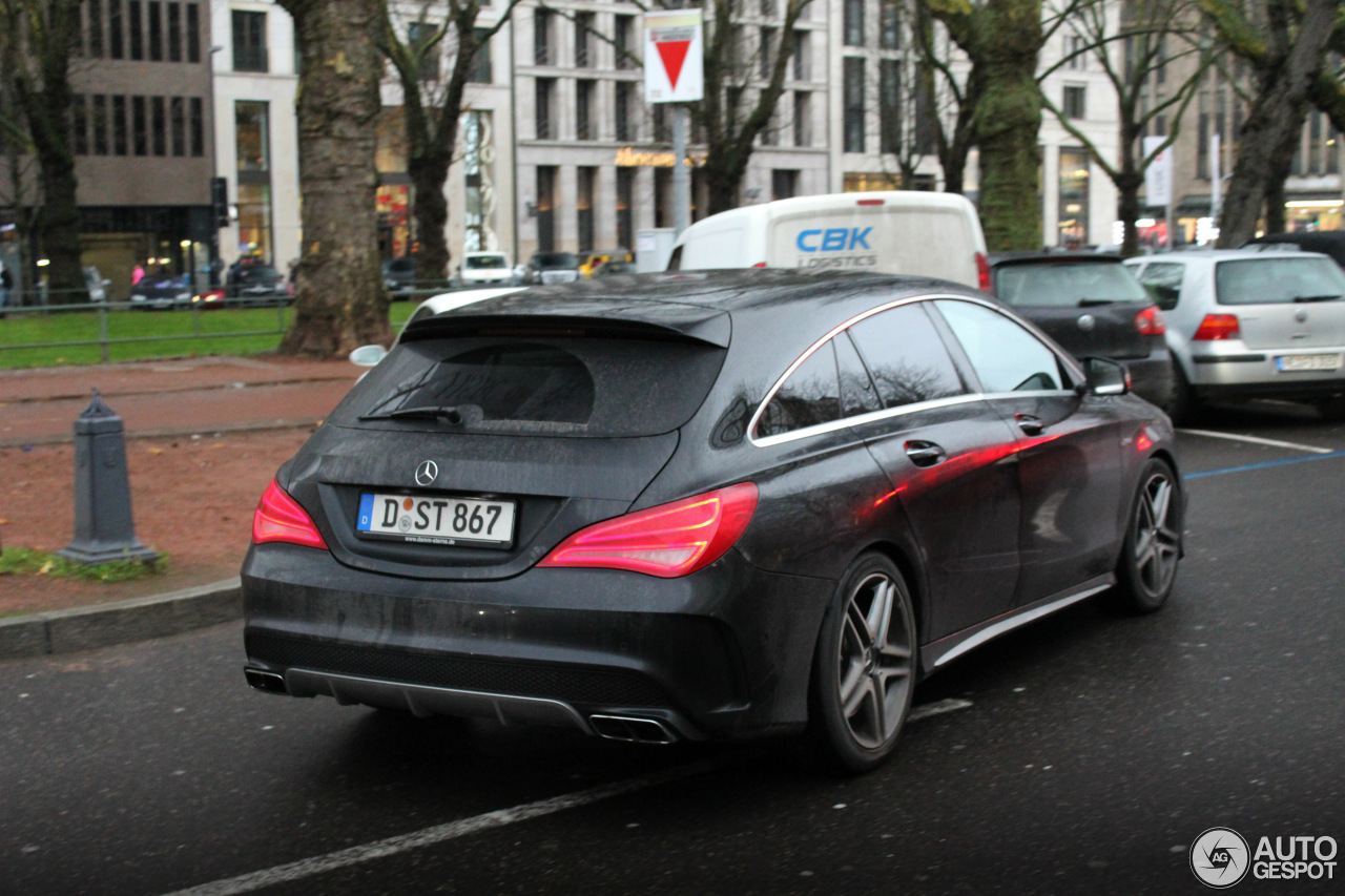 mercedes benz cla 45 amg shooting brake 25 december 2017 autogespot. Black Bedroom Furniture Sets. Home Design Ideas