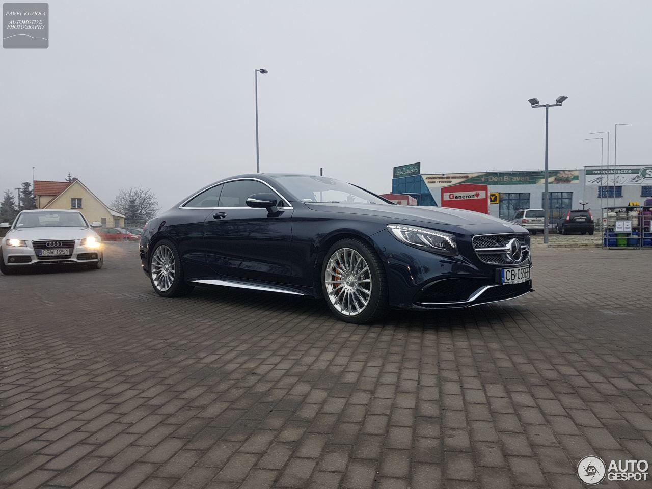 Mercedes benz s 65 amg coup c217 25 december 2017 for Mercedes benz 65