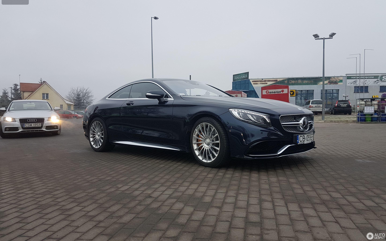 Mercedes benz s 65 amg coup c217 25 grudzie 2017 for 2017 amg s 65 mercedes benz