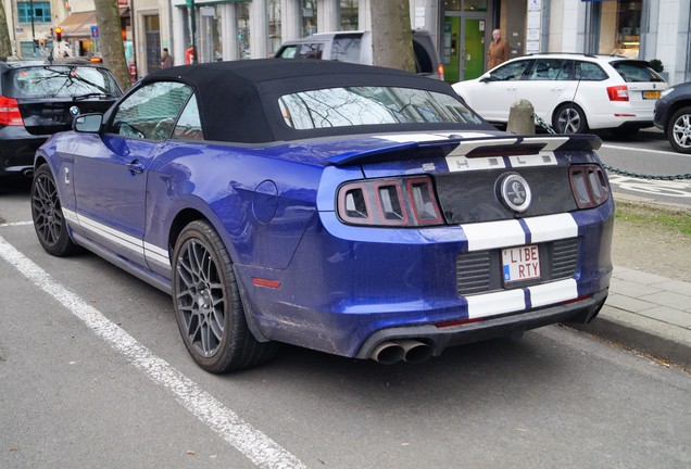 Ford Mustang Shelby GT500 Convertible 2014