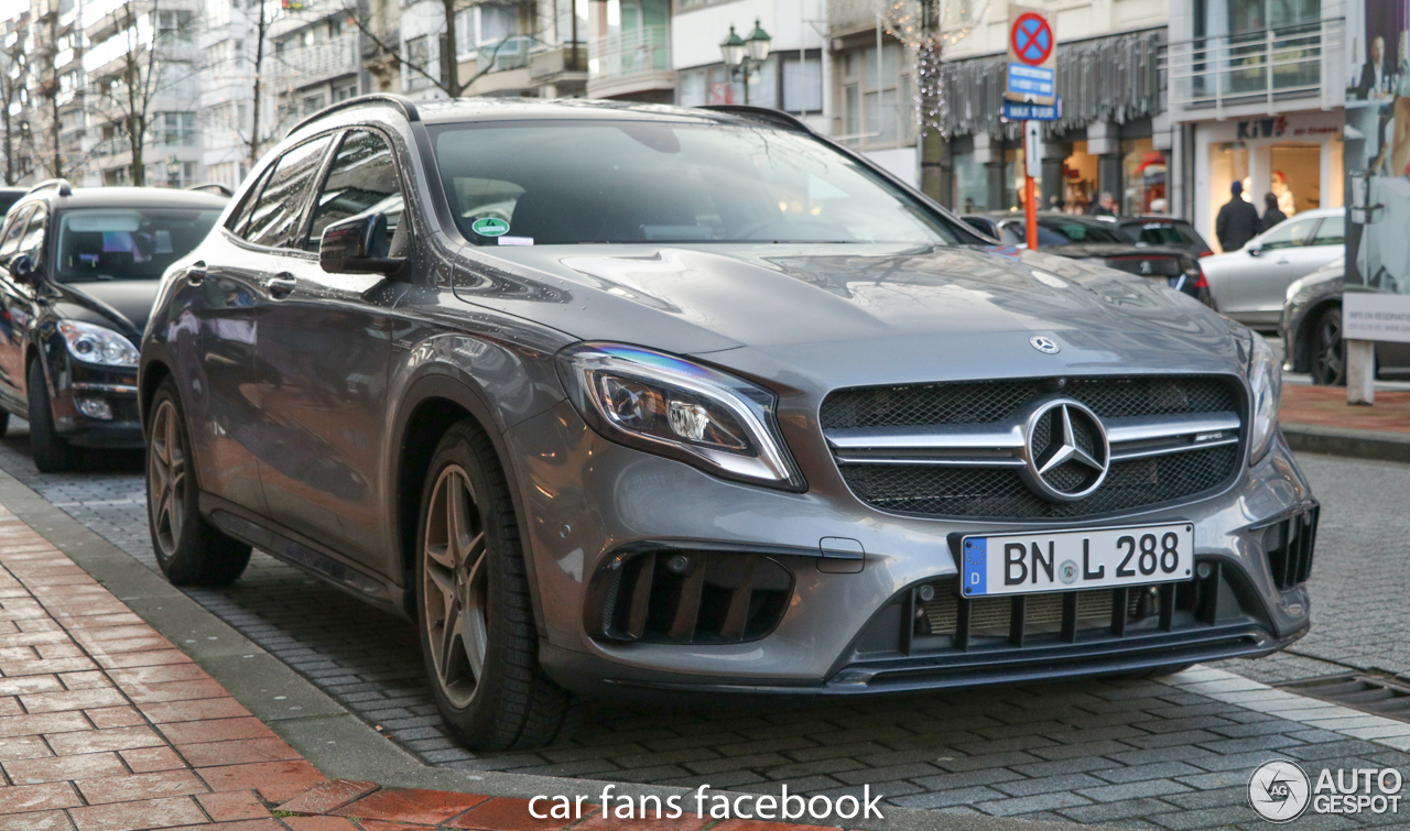 Mercedes amg gla 45 x156 2017 26 december 2017 autogespot for 2017 amg gla 45 mercedes benz